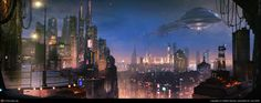 The City Glow (3D) [] by Stefan Morrell, New Zealand