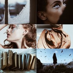 "Hp Aesthetic: Women of Ravenclaw ""You do realize we can use spells to curl our hair right?"" ""Obviously, but I feel much more accomplished when I do it the muggle way."""