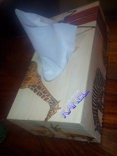 Caja de pañuelos .
