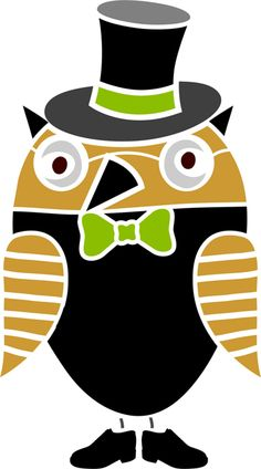 Quickly and easily paint a fun and unique design in your child's bedroom, bathroom and more with our Lord Hoot Owl Stencil!