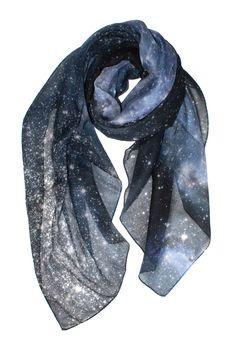Hubble Galaxy Scarf, Shadowplaynyc, Galaxy Clothing