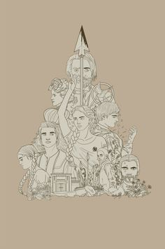 Thehungergames fan art by thefrogsnail Hunger Games Fandom, Hunger Games Trilogy, Deviantart Disney, I Volunteer As Tribute, John Green Books, Miss Peregrines Home For Peculiar, Peculiar Children, The Dark Artifices, Collor