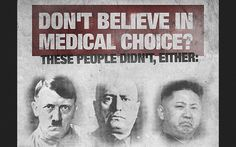 Essential vocabulary for the medical police state descending upon America