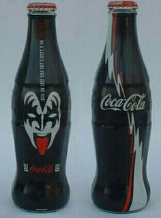 Coca Cola Bottle - Kiss