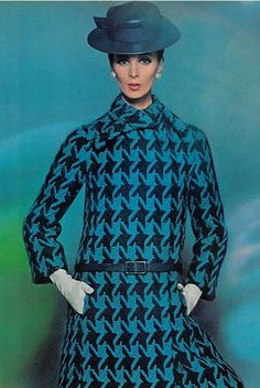 Blue Fashion of the Sixties.
