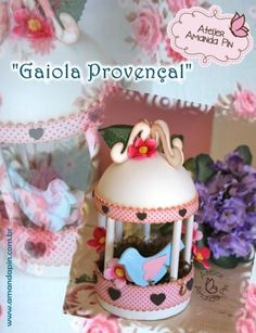 Jaula provenzal + fiesta Provenzal