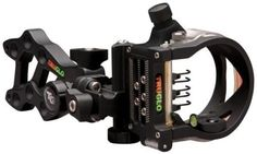 2013 TruGlo Rival FX 5 Pin Bow Sight (.019) Pins Black TG5915B