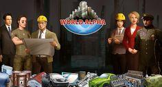 WorldAlpha empurra os limites de jogos de browser, sendo um MMORTS verdadeiramente persistente que caracterizam a política, a economia real e as corporações geridas pelo jogador ligadas perfeitamente num sistema que oferece ao jogador liberdade para jogar como eles querem.