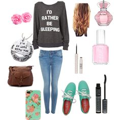 Cute outfit for school! @Hope Francoeur AGENT MARIAH what do u think?
