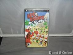 Ape Escape Academy (PlayStation Portable, 2006)
