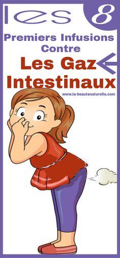 Les 8 premiers infusions contre les gaz intestinaux