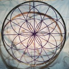 Seed of Life Sacred Geometry Mandala  6' by MtMandalas on Etsy, $2900.00