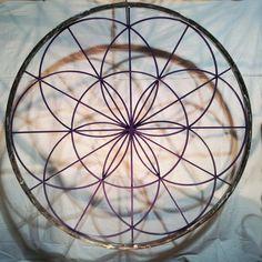Seed of Life - Sacred Geometry Mandala by MtMandalas