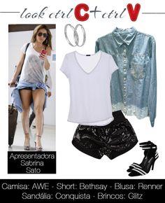 Sabrina Sato Sabrina Sato, Spring Outfits, Spring Summer, Polyvore, Fun, Closet, Fashion, Women's Vintage Looks, Craft