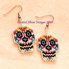 sugar skulls ~ facebook.com/Beaded Moon Designs