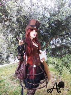 Steampunk Cosplay by Annary Shining