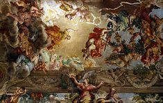 Le Triomphe de la Divine Providence, 1632-1639, Pietro da Cortona