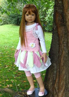 NWT RARE Masterpiece Dolls Candy Strawberry Blonde GREEN Eyes Monika Levenig