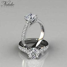 Round Diamond Engagement Rings, Beautiful Engagement Rings, Designer Engagement Rings, Beautiful Rings, Diamond Rings, Design An Engagement Ring, Celtic Engagement Rings, Tacori Engagement Rings, Ring Verlobung