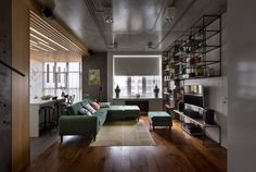 Ukrainian apartment designed by Sergey Makhno Architects