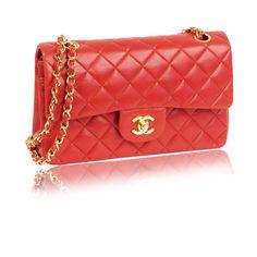 Chanel Red 2.55 Bag, France