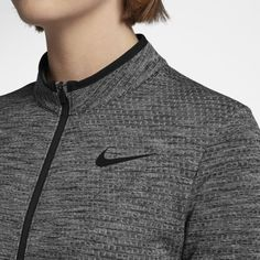 56aa535aed3 Nike Dry Women s Golf Jacket - Grey Golf Jackets