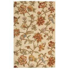 Bijou Almond Brown 4 ft. x 6 ft. Area Rug-0373510830 at The Home Depot