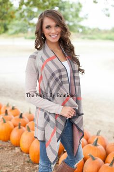 The Pink Lily Boutique - Autumn Stroll Cardigan , $42.00 (http://thepinklilyboutique.com/autumn-stroll-cardigan/)