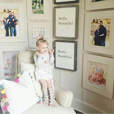 "Love the ""Hello, Sunshine"" and ""Hello, Beautiful"" Framed Prints"