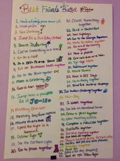 Last Minute Sleepover Ideas for Sleepover Party - DIY Holz - Best friend bucket list, Bff bucket list, Friend activities, Girl sleepover, Things to do at a slee - Sleepover Party Games, Fun Sleepover Ideas, Sleepover Activities, Girl Sleepover, Activities For Teens, Slumber Parties, Best Friend Activities, Bff Gifts, Best Friend Gifts