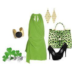 Green St Patricks Day, created by pamela-barrett-williamson