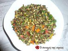 Αγριόρυζο της Σοφίας #sintagespareas Fried Rice, Fries, Ethnic Recipes, Food, Essen, Meals, Nasi Goreng, Yemek, Stir Fry Rice