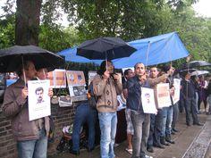 تظاهرات انگلیس ، لندن