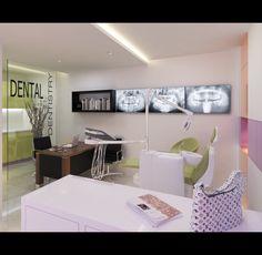 small dental clinic, interior