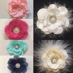 dbc64ef7e40f2 51 Delightful Flower Girl Hair Clips by Fancy Girl images in 2019 ...