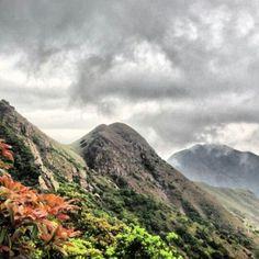 View from Lantau Peak Hong Kong second highest mountain