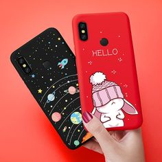 US $2.05 ASINA Silicone Case For Xiaomi Redmi Note 6 Pro Case Cute Cartoon Cover Matte 3D Relief Coque Capa Shockproof Bumper For Redmi Iphone Phone Cases, Phone Covers, Aesthetic Phone Case, Cat Colors, Note 7, Cute Cases, Cartoon Design, Cute Cartoon, Smartphone