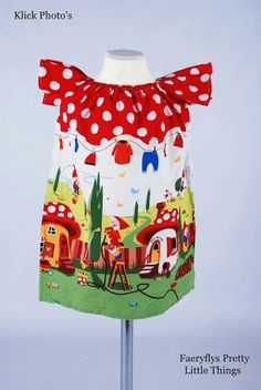 Tea Dress by Faeryflysprettys on Etsy, £20.00