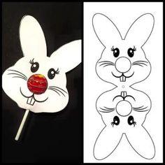 Ostern Bastelideen Bunny Lollipop, # OsterBastelideenBunny # b … - Frohe Ostern Bunny Crafts, Easter Crafts For Kids, Easter Gift, Easter Bunny, Easter Ideas, Spring Crafts, Holiday Crafts, Lollipop Craft, Diy Gift For Bff