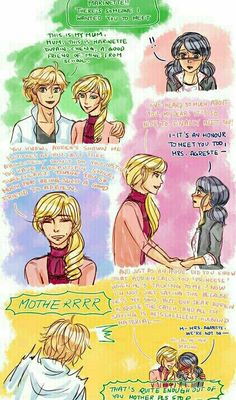 ''Adrien & Marinette''