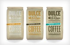 Dulce Coffeeshop Branding | Restaurant branding, marketing and other notes on various design topics