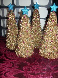 choinki z makaronu więcej na www.kasartt.blogspot.com
