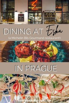 Wondering where to dine in Prague? Eska was one of my favorite meals in Prague with delicious food and a hip ambience.