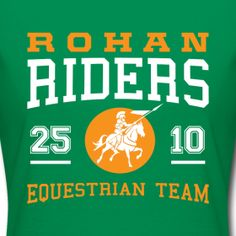 Lord of the Rings/Rohan parody t-shirt from Yellow Monkey Tees $21.99