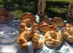 Ricetta: Corone di pane ( lievito madre)