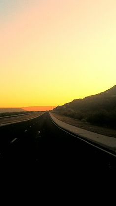 Sunrise on the roads of Texas!!!