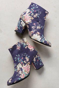 Billy Ella #floral #boots #shoelust