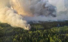 ΡΟΔΟΣυλλέκτης: Πυρκαγιά κοντά στον Πυρηνικό σταθμό του Τσερνόμπυλ...