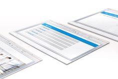 Powerpoint Master Vorlage. Grafikdesign, Digitale Bildbearbeitung und Umsetzung. Kunde: Beneston | Arne Ballies