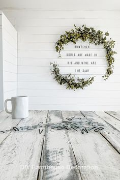 DIY Letter Board Wreath Wall Valentines Day Home Decor Quotes & Sayings: Whateve.DIY Letter Board Wreath Wall Valentines Day Home Decor Quotes & Sayings: Whatever Souls Are Made Of His And Mine Are The Same Source by amandakayfoust. Diy Letter Board, Diy Letters, Decorative Wall Letters, Wall Letters Decor, Cute Wall Decor, Cute Dorm Rooms, Cool Rooms, Easy Home Decor, Cheap Home Decor